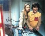 Matthew Waterhouse & Lalla Ward - Genuine Signed Autograph